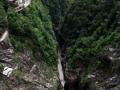 Vista del fondo diga in Val Verzasca