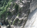 Parete della diga in Val Verzasca