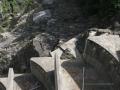 Canali di troppo pieno della diga Val Verzasca