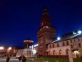 Castello di Milano illuminato di notte