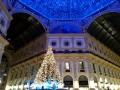 Galleria Vittorio Emanuele luminare Natale 2014