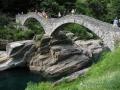 Ponte dei salti in Val Verzasca