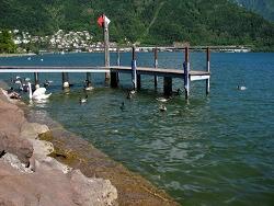Lungolago di Melide (lago di Lugano)