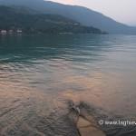 Tramonto sul lago di Lugano