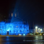 Duomo di Como illuminato per Natale 2010