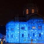 Duomo di Como illuminato