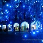 Luci dell'albero di Natale a Como