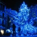 Como illuminata per Natale 2010