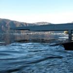 Porto di Maroggia sul lago di Lugano