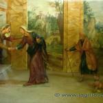 Affresco in una cappella della Via Crucis del Sacro Monte Varese
