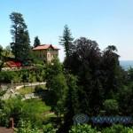 Panorma lungo la salita al Sacro Monte di Varese