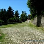Viale verso la cima del Sacro Monte di Varese