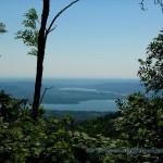 Paronama del Lago di Varese visto dal Sacro Monte