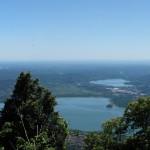 Panorama del Lago di Varese e Comabbio dal Forte di Orino