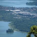 Lago di Varese e Comabbio dal Forte di Orino