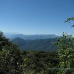 Alpi viste dal Forte di Orino