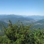 Panorama dal Forte di Orino