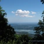 Lago di Varese lungo la strada per il Forte di Orino